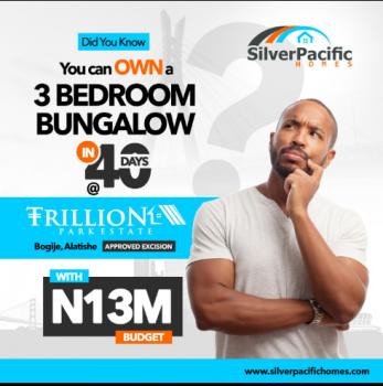 Trillion Park Estate Detached Bungalow, Bogije, Ibeju Lekki, Lagos, Detached Bungalow for Sale