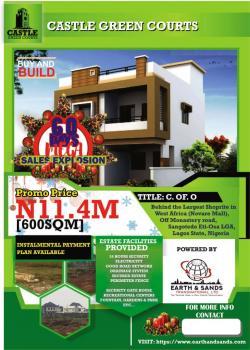 Estate Land, Monastery Road Behind Novare Mall Sangotedo Ajah, Lekki Phase 2, Lekki, Lagos, Residential Land for Sale