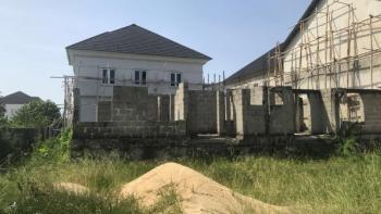 2 Units of Carcass 4 Bedroom Terraced Duplex, Ikota Villa Estate, Lekki, Lagos, Terraced Duplex for Sale