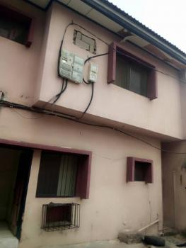a Very Spacious and Standard Mini Flat (1 Bedroom Flat) Upstairs Only 2 Occupants Very Specious Gated with Separate Prepaid Meters, Oloasebikan Close, Off Alhaji Jimoh Street, Adeniyi Jones, Ikeja, Lagos, Mini Flat for Rent