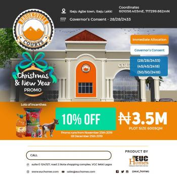 Estate Land, Title: Governors Consent, Before Lekki Free Trade Zone, Located at Ibeju Agbe Town, Eleko, Ibeju Lekki, Lagos, Residential Land for Sale