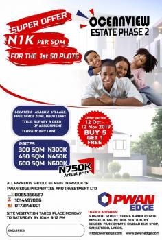 Estate Land, Dangote Refinery .la Campaign Tropicana ,lekki Deep Sea Port, Eleko, Ibeju Lekki, Lagos, Residential Land for Sale