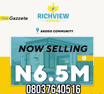 Richview Estate Land, Akodo,ibeju Lekki Lagos, 5mins Close to Amen Estate, Eleko, Akodo Ise, Ibeju Lekki, Lagos, Mixed-use Land for Sale