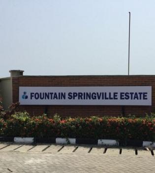 Plots of Land Available, Fountain Springville Estate, Shoprite/novare Mall, Sangotedo, Ajah, Lagos, Residential Land for Sale