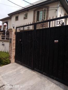 Relatively New 3 Bedrooms Flat En Suite, Estate, Medina, Gbagada, Lagos, Flat for Rent