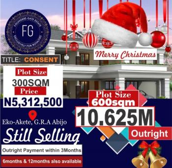 Estate Land with Governor's Consent, Eko Akete a Few Minutes From The Expressway, Abijo, Lekki, Lagos, Residential Land for Sale