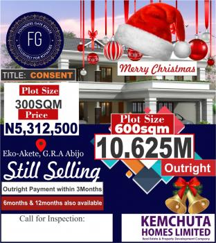 Estate Land Governor Consent, Location:* The Founders Gate Estate Is Situated at Abijo Gra, Behind Eko Akete, Off Lekki-epe Expressway, Sangotedo, Ajah, Lagos, Residential Land for Sale