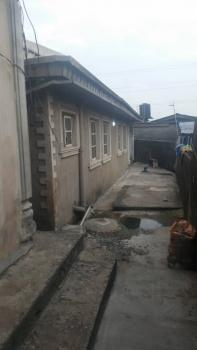 Solid Block of 3 Nos of 2 Bedroom Flat with 2 Nos of Room Self Contained (up and Down) and 3 Bedroom Bungalow Built on 450sqm, Adebayo Rufia Off Ogunlana Street, Ijesha, Lagos, Block of Flats for Sale