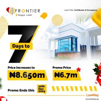 Christmas Promo. Frontier Estate, Bogije, Ibeju Lekki, Lagos, Mixed-use Land for Sale