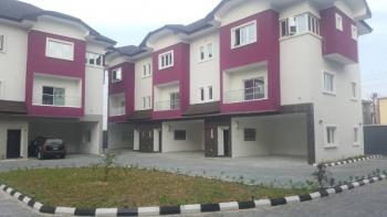 Brand New Service 3 Bedroom Service Terraced, Jide Sawyer Street, Lekki Phase 1, Lekki, Lagos, Terraced Duplex for Rent