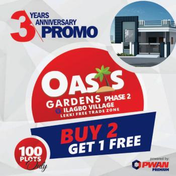 Land, Oasis Gardens Phase 2, Ilagbo Community, Free Trade Zone, Akodo Ise, Ibeju Lekki, Lagos, Mixed-use Land for Sale