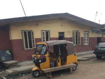 a Tenement Bungalow Sitting on a Full Plot of Land, Bariga, Shomolu, Lagos, Detached Bungalow for Sale