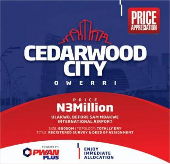 Estate Land, a Few Minutes to The Airport, Owerri, Imo, Residential Land for Sale