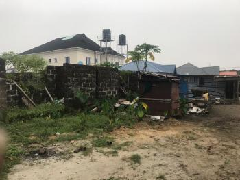 1 Plot of Land with Uncompleted Building Inside, Miracle Thera Estate, Sangotedo, Ajah, Lagos, Mixed-use Land for Sale