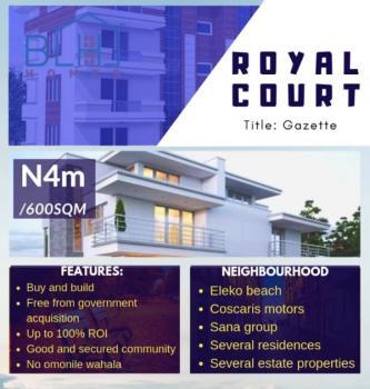 Estate Land with Gazette, Near Eleko Beach, Eleko, Ibeju Lekki, Lagos, Residential Land for Sale