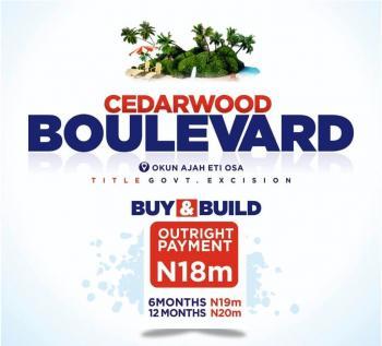 Buy and Build Estate Land, Okun Ajah Few Minutes From Abraham Adesanya Roundabout, Lekki Phase 2, Lekki, Lagos, Residential Land for Sale