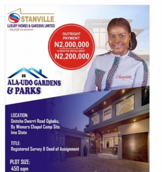 Estate Land, Ogbaku Onitsha Owerri Road By Winners Chapel Camp, Owerri, Imo, Residential Land for Sale