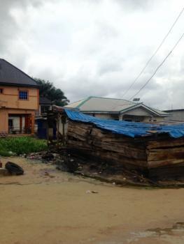 Small Plot of Land in Ugbuwangue, Warri, Waterside Road, Warri, Delta, Residential Land for Sale