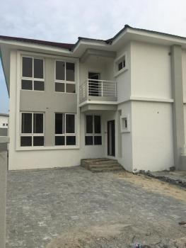 Four Bedroom Semi Detached Duplex with a Room Bq, Chevron, Lekki, Lagos, Semi-detached Duplex for Sale