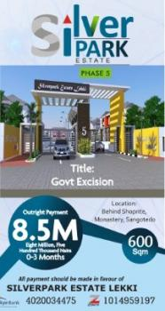 Estate Iand for Sale with Verified Documents, Government Approved Exercision Silver Park Estate, Behind Shoprite, Sangotedo, Ajah, Lagos, Residential Land for Sale