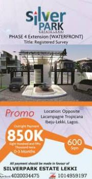 Estate Land, Eleko, Ibeju Lekki, Lagos, Residential Land for Sale