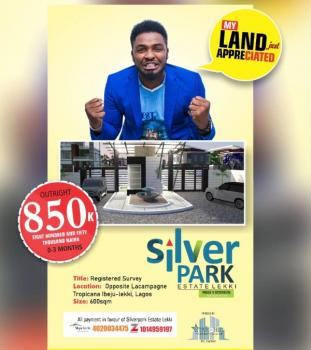 Over 100 Plots of Land, Opposite La Campagne Tropicana Beach Resort, Ibeju Lekki, Lagos, Residential Land for Sale