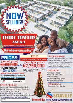 Over 100 Plots of Land, Mgbakwu, Awka, Anambra, Residential Land for Sale