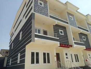 a Sparkling House with Modern Features, Guzape District, Abuja, Terraced Duplex for Sale