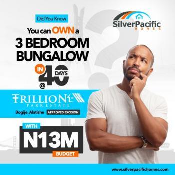 Own a 3 Bedroom Bungalow in 40 Days at Trillion Park Estate Lekki.., Bogije, Lekki Expressway, Lekki, Lagos, Detached Bungalow for Sale