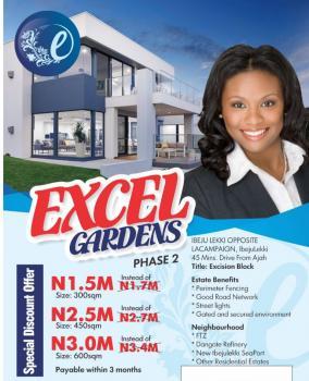 Dry Estate Land in Ibeju Lekki, Opposite La Campagne Tropicana Resort, Ibeju Lekki, Lagos, Residential Land for Sale