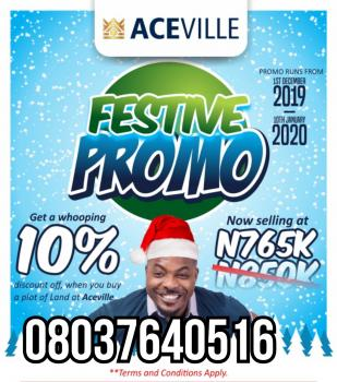 Ace Ville Estate, Noforija   ( 5 Minutes Drive From  Alaro City), Epe, Lagos, Mixed-use Land for Sale