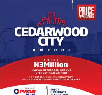 Over 100 Plots of Land of 600sqm Near Sam Mbakwe International Airport, Ulakwo Community Airport Road, Owerri, Imo, Residential Land for Sale