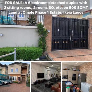 5 Bedroom Fully Detached Duplex, Omole Phase 1, Ikeja, Lagos, Detached Duplex for Sale