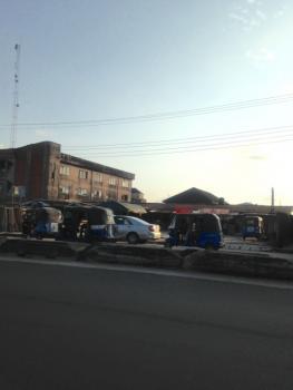100x85 Commerial Plot on Warri-sapele Road, Sapele Road, Effurun, Uvwie, Delta, Commercial Land for Sale
