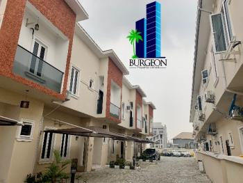 Lovely 4bedrooms with 1room Bq Located at Chevron Axis,lekki,lagos(n2.5m), Lafiaji, Lekki, Lagos, House for Rent
