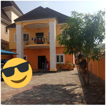 Relatively New 5 Bedroom Duplex in an Estate, Ago Palace, Isolo, Lagos, Detached Duplex for Sale