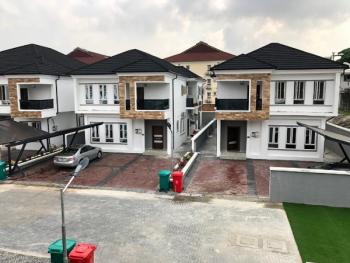 Serviced 4 Bedroom Detached Duplex + Bq, Chevron, Lekki, Lagos, Detached Duplex for Rent