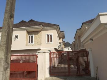 Service 3bedroom Terrace with a Boys Quarter, Osapa, Lekki, Lagos, Flat for Rent