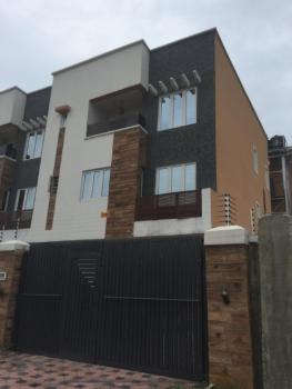 Newly Built 4 Bedroom Semi Detached with 1rm Bq in a Secured Gate Estate By Second Round About, Lekki Phase 1, Lekki, Lagos, Semi-detached Duplex for Rent
