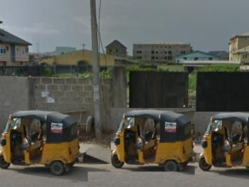 a Fenced and Gated Land of 2,400sqm, Ago Palace, Isolo, Lagos, Commercial Land for Sale