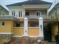 5 Bedroom Detached Duplex(all En-suite) With Cctv, Jacuzzi, Intercom, Family Lounge, Fitted Kitchen, Ante Room And Boys Quarters, Idado, Lekki, Lagos, 5 Bedroom, 6 Toilets, 5 Baths House For Sale