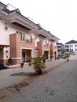 Luxury 4 Bedroom Terrace Duplex with a Room Bq, 24 Hours Light, Swimming Pool, Off Bourdillon, Old Ikoyi, Ikoyi, Lagos, Terraced Duplex for Rent
