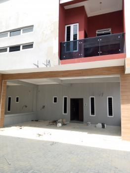 New Tastefully Finished 4 Bedroom Terrace Duplex with a Room Bq, By Chevron Toll-gate, Lafiaji, Lekki, Lagos, Terraced Duplex for Sale