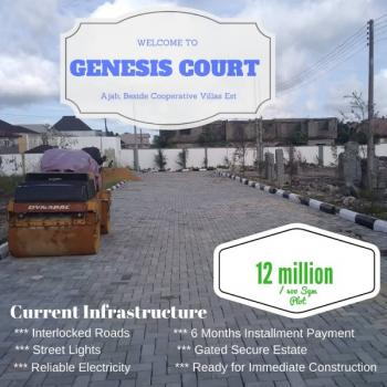 Available Land Sizes, Along Unity Estate Road, Beside Cooperatives Villa Estate, Badore,, Ajah, Lagos, Residential Land for Sale