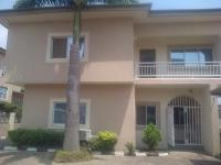 Fully Detached 4 Bedrooms Duplex with 2 Living  Rooms and 2 Rooms Boys Quarters, I.t Igani Street, Jabi, Abuja, Detached Duplex for Rent