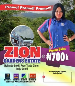 Zion Gardens Estate, Behind Free Trade Zone, Ibeju Lekki, Lagos, Residential Land for Sale