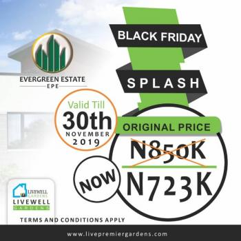 Evergreen Estate Land, Town City, Epe, Lagos, Mixed-use Land for Sale