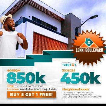 Lekki Boulevard Estate Land, Champagne Tropicana, Akodo Ise, Ibeju Lekki, Lagos, Mixed-use Land for Sale