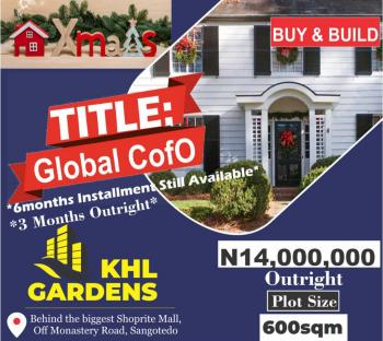 Ready to Build Dry Land with C of O, Ew Minutes From Shoprite, Sangotedo, Ajah, Lagos, Residential Land for Sale