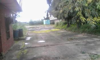 Fenced 70 Plots of Land  with a Massive Warehouse, Trans Amadi Industrial Layout, Trans Amadi, Port Harcourt, Rivers, Commercial Land for Sale